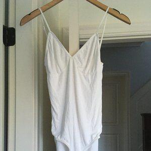 American Apparel White Bodysuit